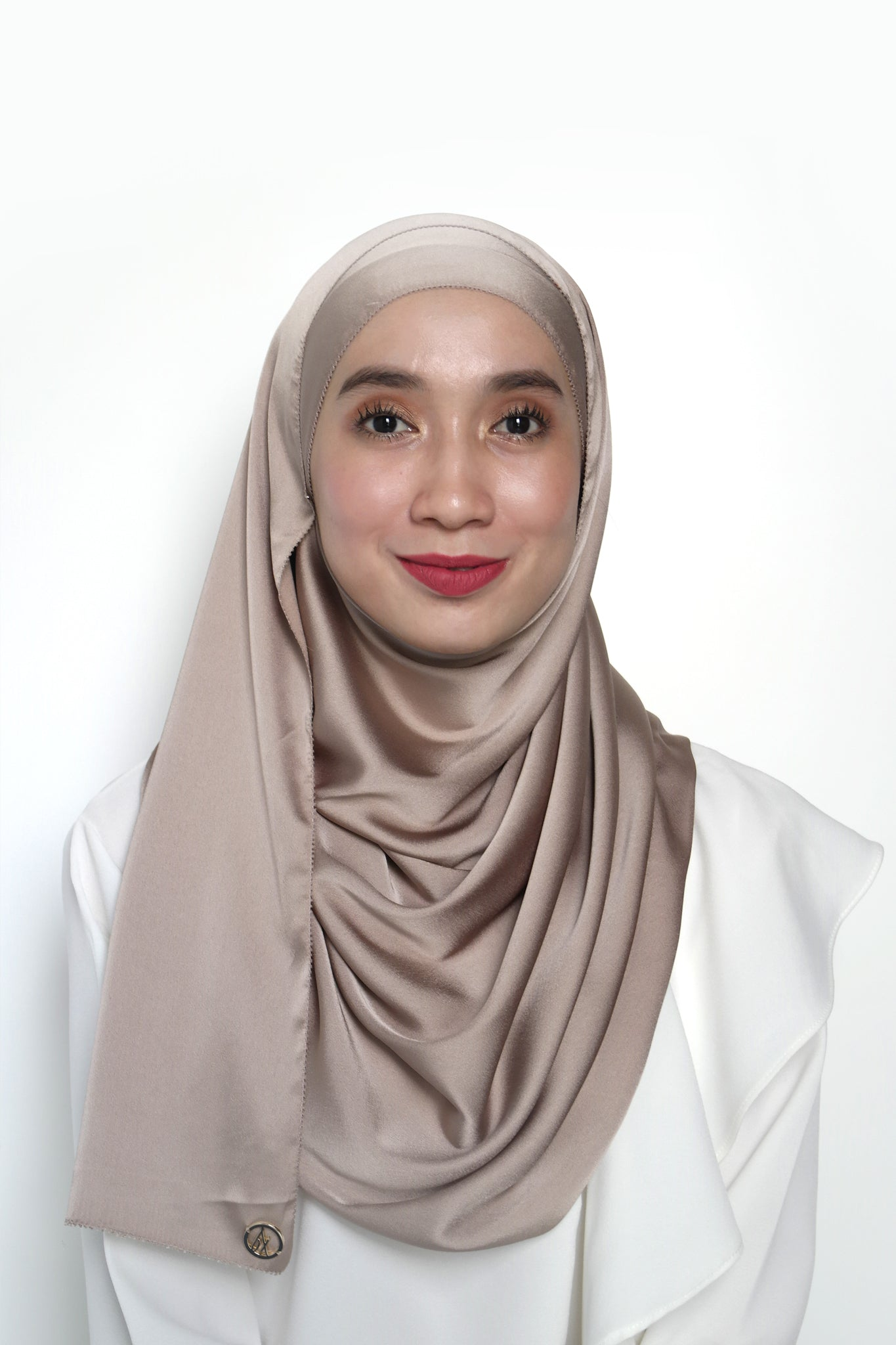Sateen Eyelash Shawl Hazel