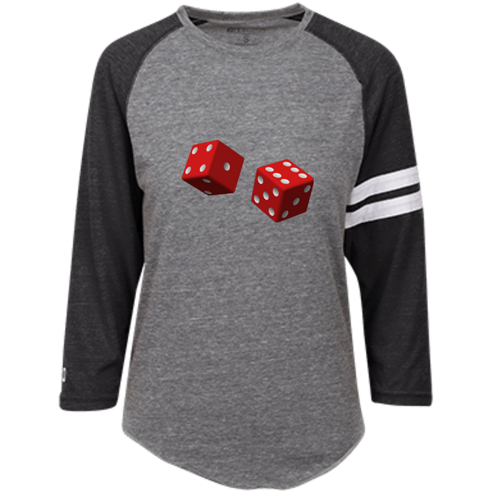 Roll Of The Dice (OXB) Holloway Heathered Vintage T-Shirt