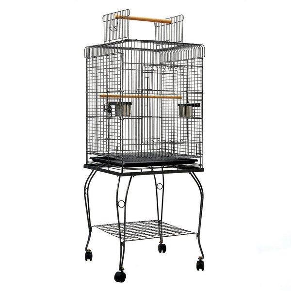 i.Pet Large Bird Cage with Perch 128cm