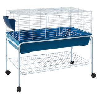 ipet portable small animal hutch with stand