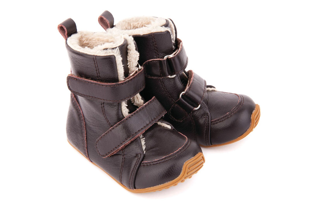 SNUG Chocolate Boots