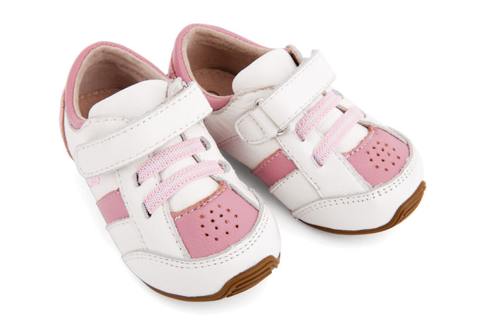 Trainers - Pink & White