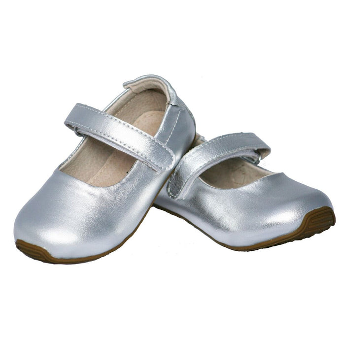 Mary-Janes Silver