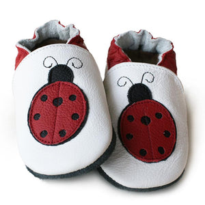 Soft Sole Leather Shoes - Miss Ladybug