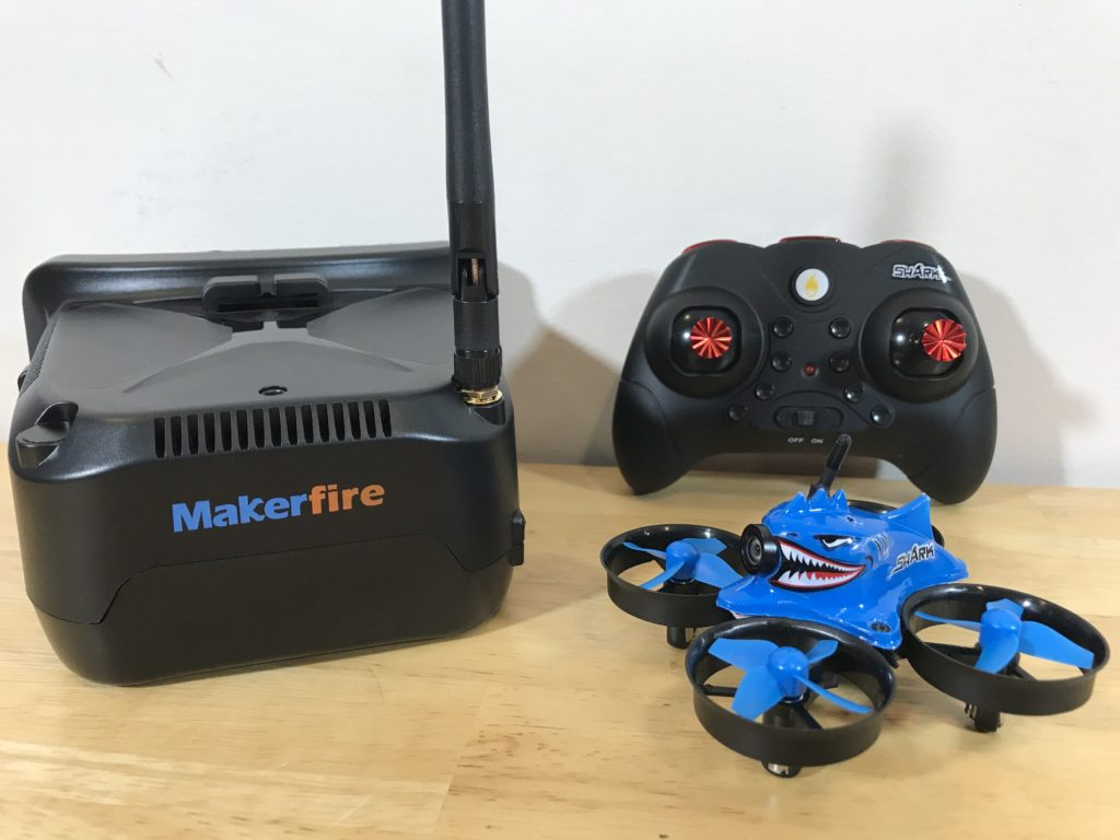 Makerfire Armor Blue Shark: An All-in-One FPV Solution with Altitude Hold