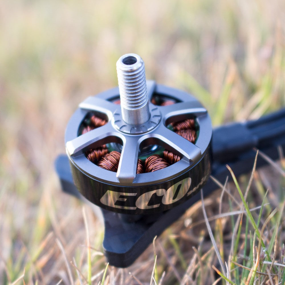 4pcs Emax ECO 2306 1700KV 2-4S/2400KV 3-6S Brushless Motor for RC Drone FPV Racing