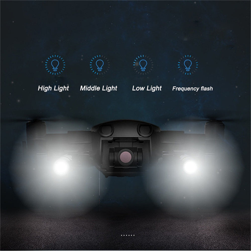 DJI Mavic Air Accessories LED Light Kit Small Flashlightfor Mavic Air Drone Fill Flash