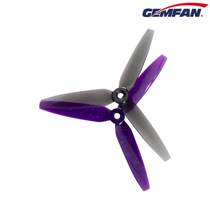 GEMFAN 513D-PC 3-Blade 5mm propeller for 2206-2300 KV Motor(Pack of 8)