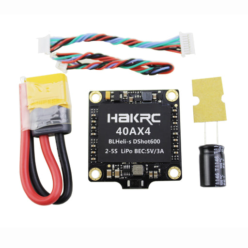 HAKRC 2-5S 40A 4-in-1 Brushless ESC BLHeli-S Firmware