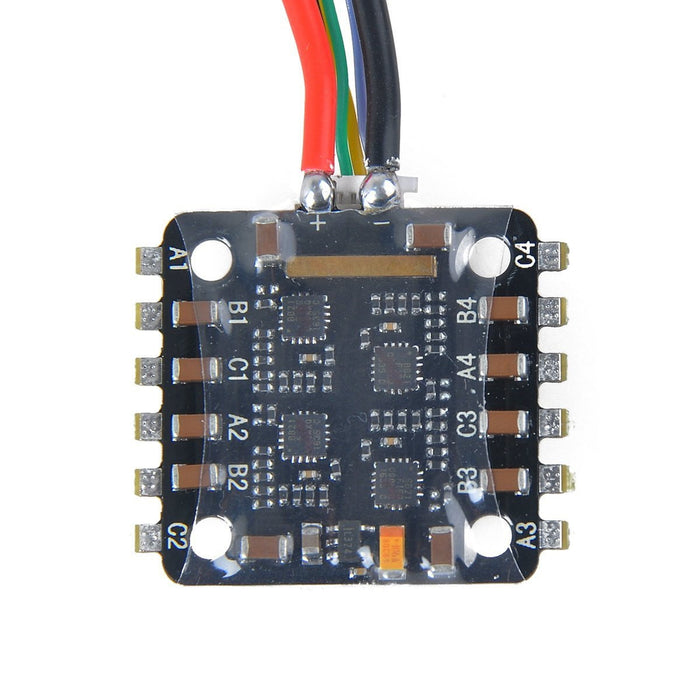 BLHeli-S 4in1 10A ESC 2-3s Lipo Electric Speed Controller Support Oneshot Multishot Dshot