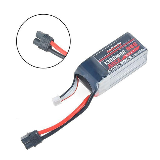 Infinity Graphene LiPo Battery 1300mAh 90C 4S 14.8V SY60 Plug Compatible with XT60