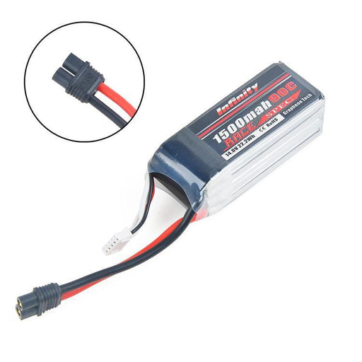 Infinity Graphene LiPo Battery 1500mAh 90C 4S 14.8V SY60 Plug Compatible with XT60