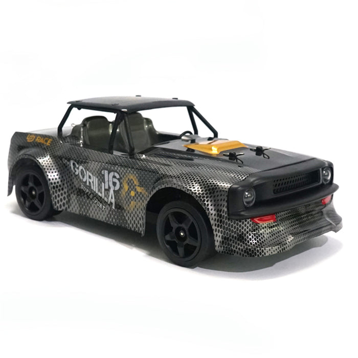 SG 1604 RTR 1/16 2.4G 4WD 30km/h RC Car LED Light Drift On-Road Proportional Control Vehicles Model(New version)