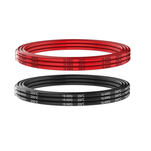 16 Gauge Silicone Wire 5 meters Soft and flexibele Low impedantie
