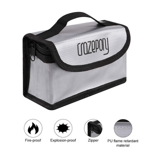 Crazepony Fireproof Explosionproof Lipo Safe Bag