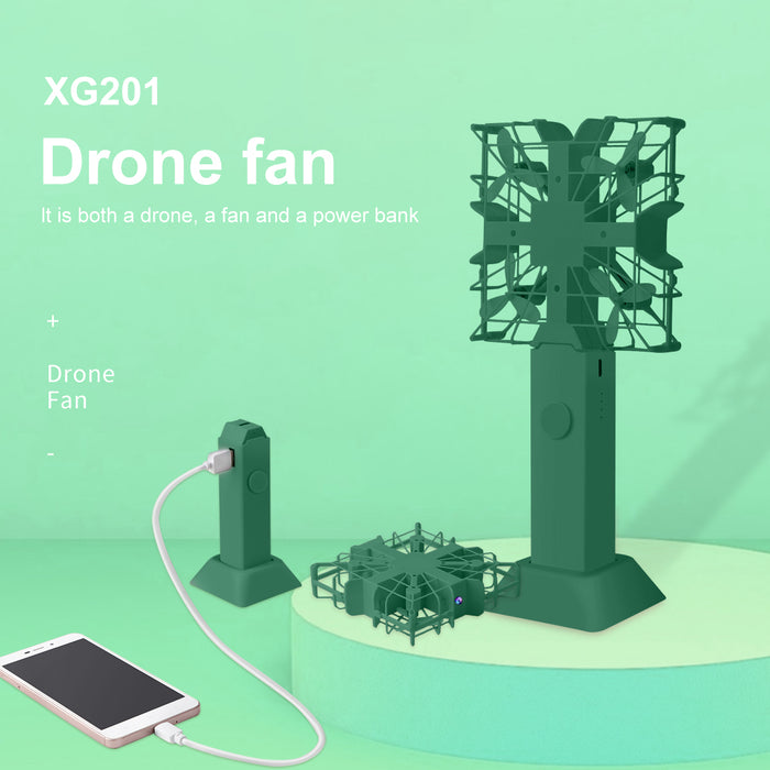 XG201 Drone Fan with 1080P Camera 6-Axis Gyro (GITEKI Mark)
