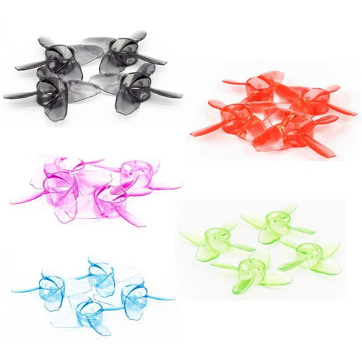20pcs EMAX Avan Tinyhawk TH Turtlemode Propeller 40mm Four-Blade Props 4 Blade Propellers