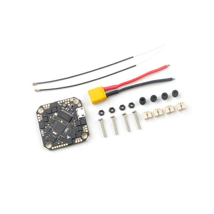 Happymodel CrazyF411 AIO F4 flight controller built-in 20A ESC/OSD/Frsky receiver for Toothpick