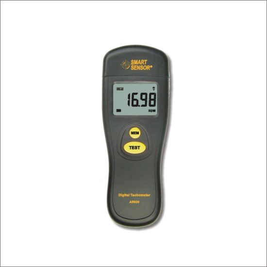 AR926 Digital Tachometer Speed Meter Tach RPM Tester Motor Non-contact photoelectric Speedometer 2.5 ~ 99999rpm