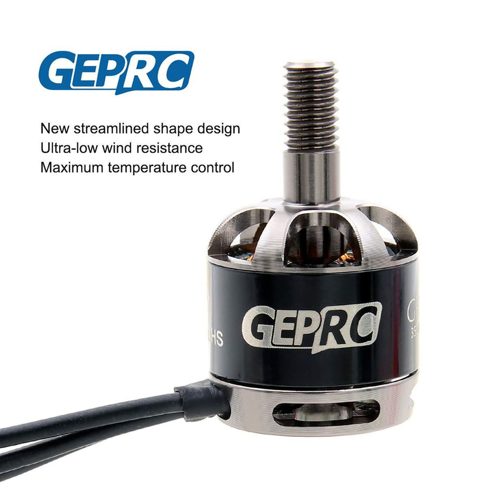 GEPRC 1408 3500KV Brushless Motor 2CW 2CCW for 2-4S LiPo 80-150mm Frame