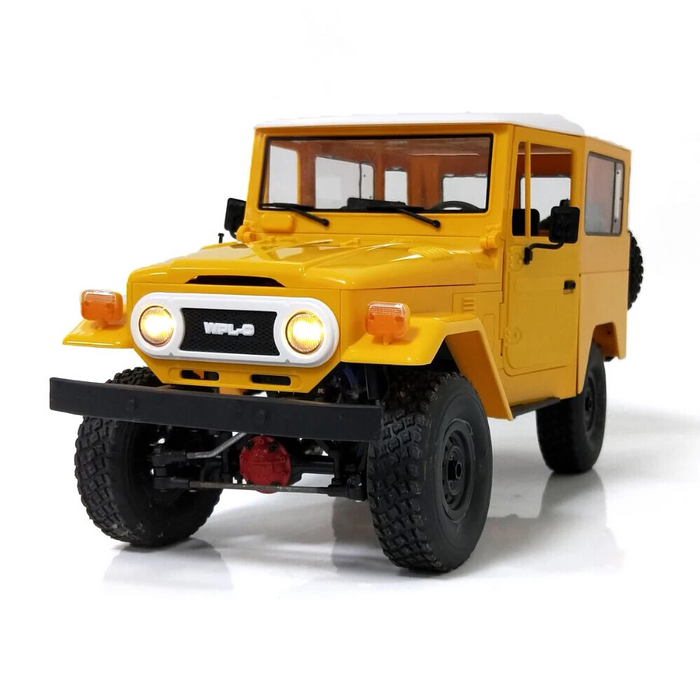 WPL C34 1/16 RTR 4WD 2.4G Truck Crawler Off Road RC Car 2CH Vehicle Models With Head Light Plastic
