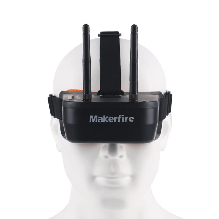 Makefire XG192 Snake85 85mm Micro Racing Drone with FPV Goggle Altitude Hold Can Be Switched Off