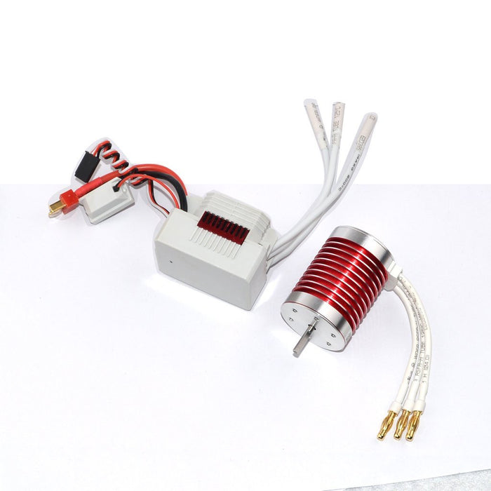 Surpass F540 4370KV 4 Pole 3.175mm Waterproof Brushless Motor and 45A Splashproof ESC