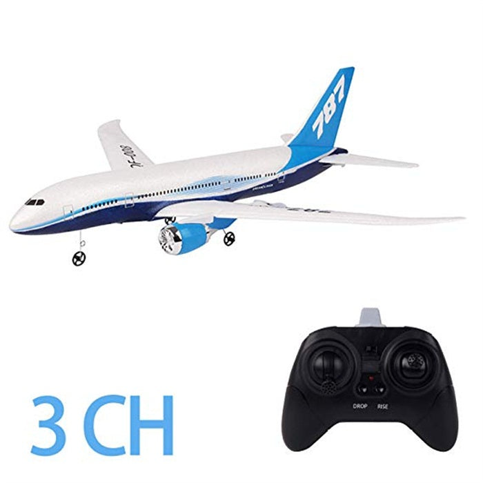 F008-787 RC Airplanes 550mm Wingspan Glider 3CH 2.4Ghz DIY Remote Control Airplane