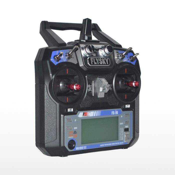 FlySky FS-i6 2.4G 6CH AFHDS RC Radion Transmitter Without Receiver for RC FPV Drone - Mode 2 Left