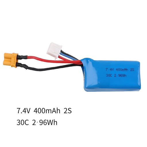400mAh 2S 7.4V 30C LiPo Battery Pack with XT30 Connector for Armor 85 HD Brushless Whoop (2pcs)