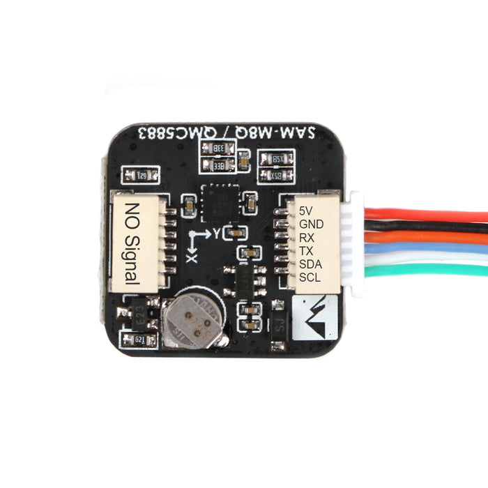 Mini FPV GPS Module M8Q-5883 Ublox SAM-M8Q GPS & QMC5883L Compass Module for RC Drone FPV Racing