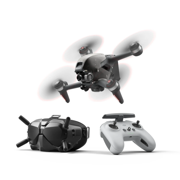 DJI FPV Combo 10KM 1080P FPV 4K 60fps Camera 20mins Flight Time 140 km/h Speed FPV Racing Drone RC Quadcopter FPV Goggles V2 5.8GHz Transmitter Mode2