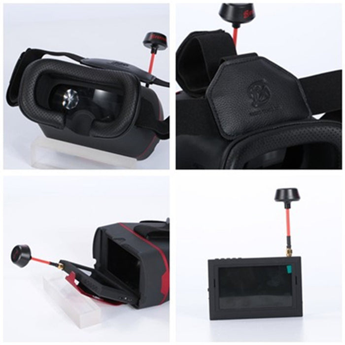 FXT 5.8GHz FPV Goggles 32CH Raceband Detachabel 4.3 inch Receiver Monitor for Drone Racing