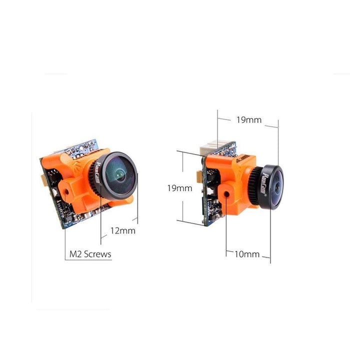 Runcam Micro Swift 2 Fpv Camera 600TVL 2.1MM lens Built-in OSD 160 Degrees 5 to 36V NTSC