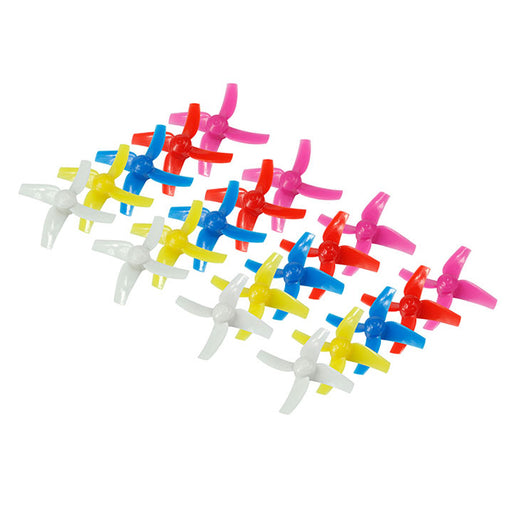 Makerfire 20pcs 48mm 4-Blade Propeller for  for ARMOR 85 FPV Drone Quadcopter