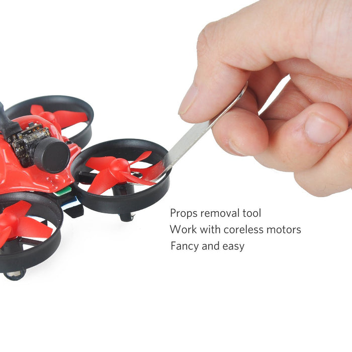 Mini Quadcopter Frame Kit with Props Removal Tool for Tiny Whoop Eachine E010 JJRC H36 Quadcopter
