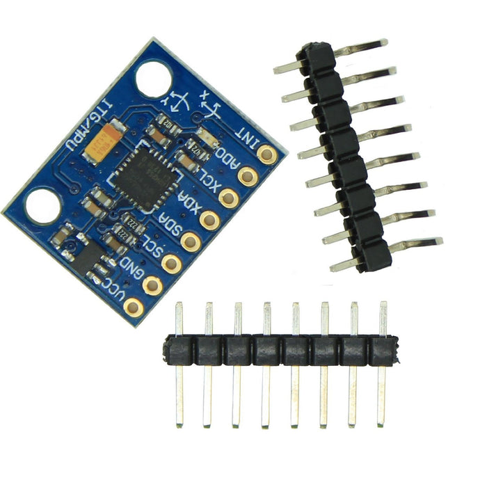 Arduino GY-521 MPU-6050 Module 3 axial gyroscope accelerometer stance tilt