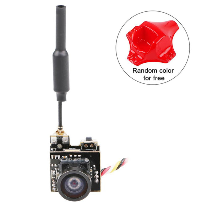 FPV Micro AIO Camera 5.8G 40CH 25mW Video Transmitter VTX Switchable Raceband w/OSD