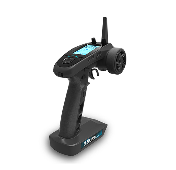 Flysky FS GT5 Remote Control, 6 Channels RC Car Boat Transmitter (Control Range About 200m, AFHDS 2A)