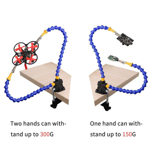 Flexible Helping Hands Soldering, Soldering Station Tool Simple Design for Easy Operation