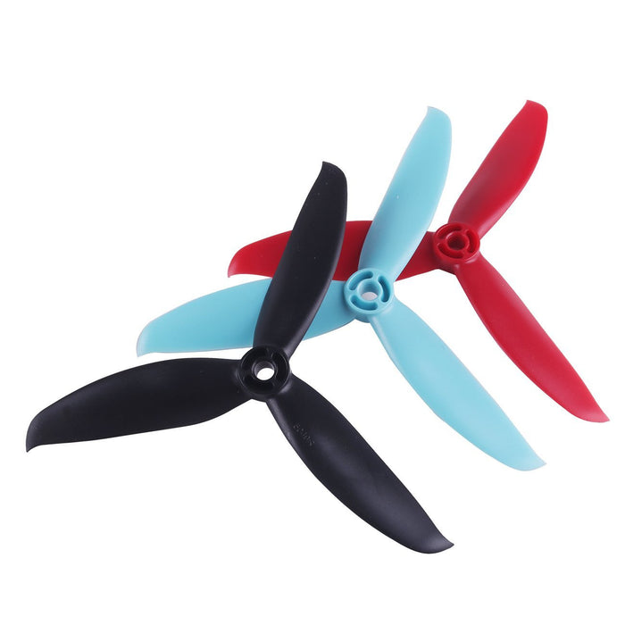 12pcs 5049 Propellers 5 inch 3-Blade Props Triblade CW CCW Propeller for 2205-2407 Brushless Motor