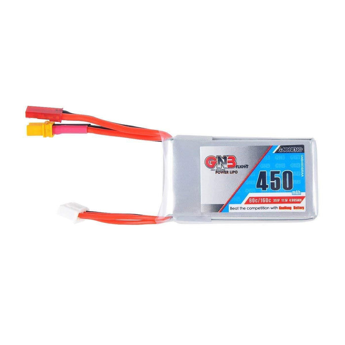 GNB 450mAh LiPo Battery 3S 80 V 11.1 V For Xt30 And FPV re-singudoro-n JST Connector