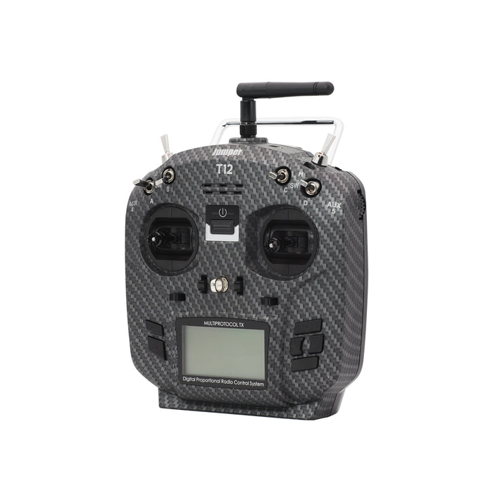 Newest Jumper T12 Pro including JP4in1 Internal Module with TBS CRSF Support And JR/Frsky Compatible Module Bay Hall Gimbal OpenTX Multi-Protocol Transmitter