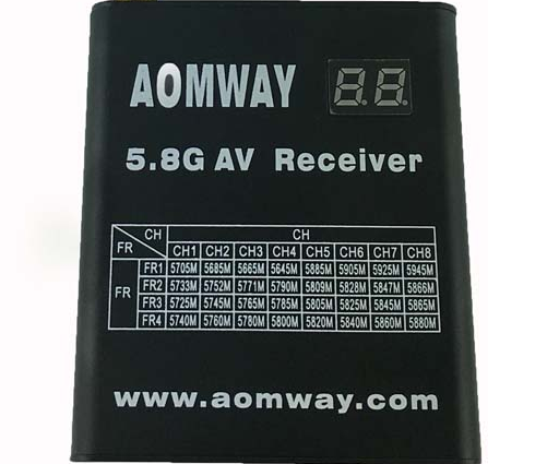 Aomway 5.8G Panel Antenna Flat Antenna 13db SMA Male for FPV Multicopter