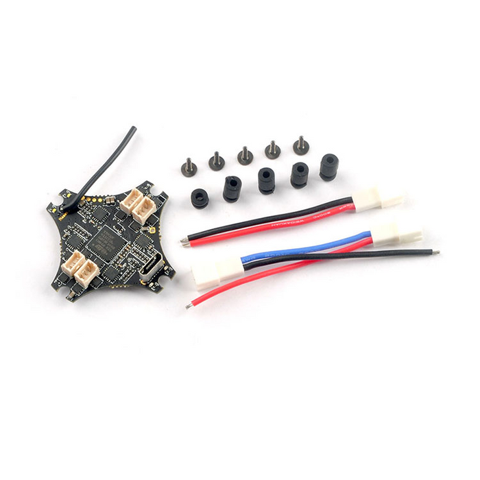 25.5x25.5mm Happymodel Nano X F4 OSD 1-2S Flight Controller AIO 5A BL_S 4in1 ESC