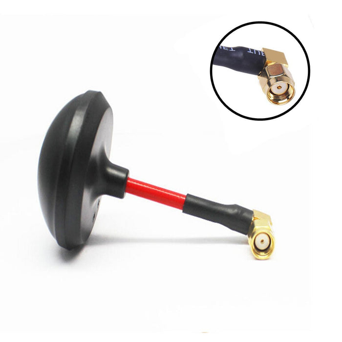 Crazepony FPV Antenna 5.8ghz RP SMA LHCP Male 7-9DBi Circular Polarized Mushroom Antenna