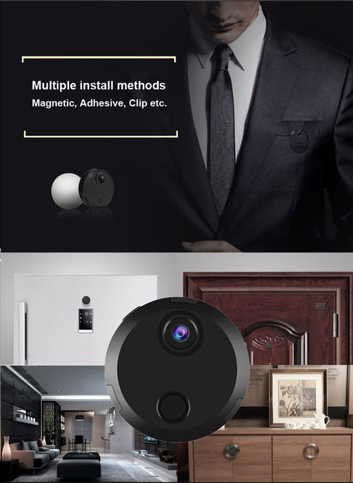 Mini Hidden Camera WiFi Camera Wireless HDQ15 1080P Mini Camera Night Vision Video Camera