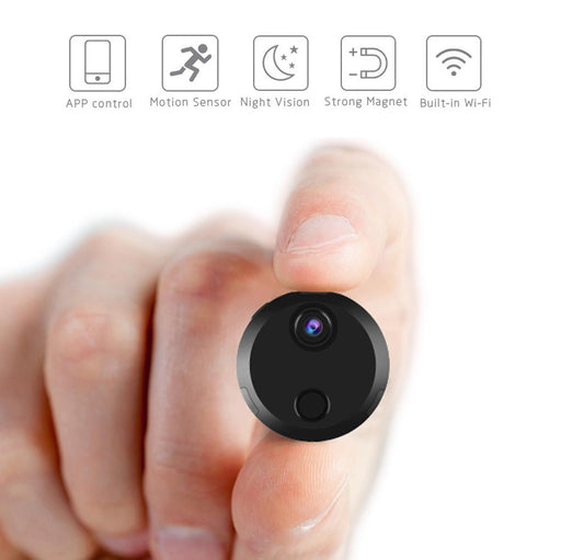 Mini Hidden Camera WiFi Spy Camera Wireless HDQ15 1080P Mini Camera Night Vision Video Camera