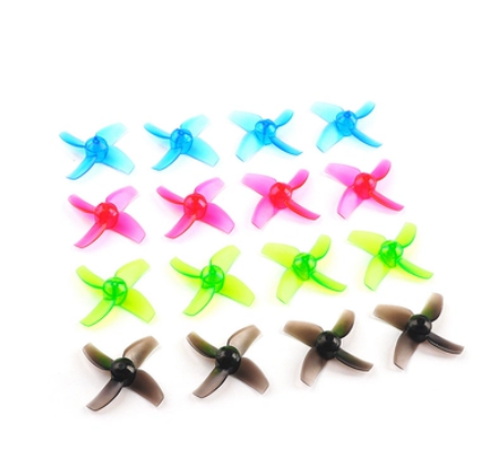 40mm Four-Blade Propellers CW CCW 1.0mm Shaft for Mobula7 LDARC TINY R7 7/7X
