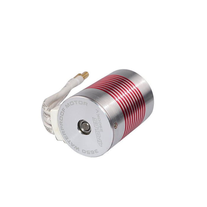 3650 4300KV 4 pole 3.175mm Waterproof Brushless Motor for 1/10 RC Car Truck